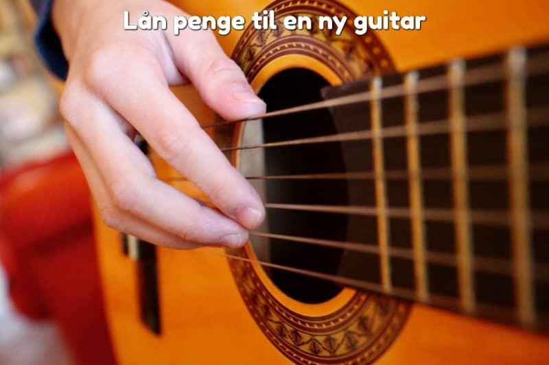 Lån penge til en ny guitar